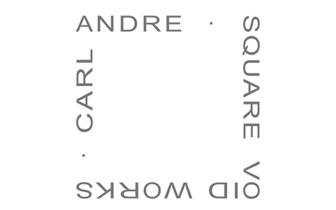 CARL ANDRE - SQUARE VOID WORKS - DÜSSELDORF